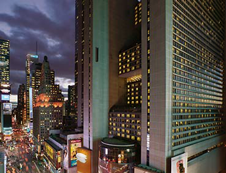 The New York Marriott Marquis Hotel